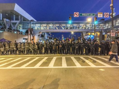 The militarization of city police forces is a spark that's leghting up neighborhoods primed for explosition by decades of beneath-the-surface social unrest.