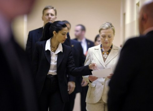 Huma and Hillary in Tanzania